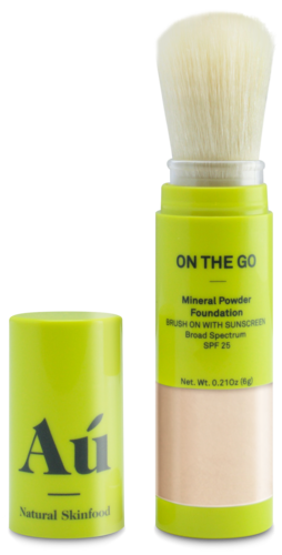 Au Natural On the Go Brush on Mineral Powder Sunscreen SPF25