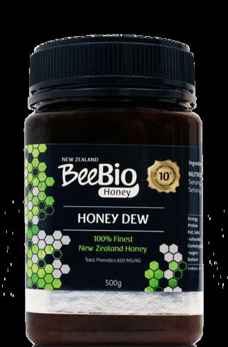 BeeBio Honey Dew 500g 10+ Phenolic Content 600mg/Kg