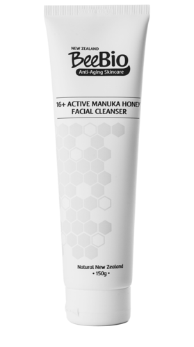 16+ Active Manuka Honey Facial Cleanser