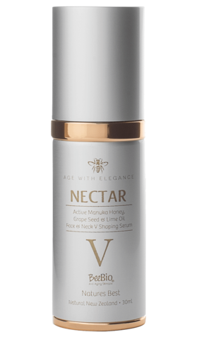 Nectar V Active 16+ Manuka Honey Neck & Face Serum