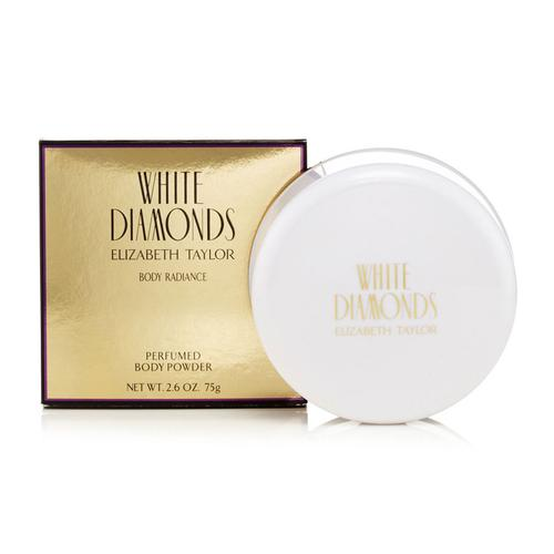 Elizabeth Taylor White Diamonds Perfumed Dusting Powder 75g