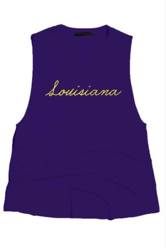 Louisiana Sleeveless Top