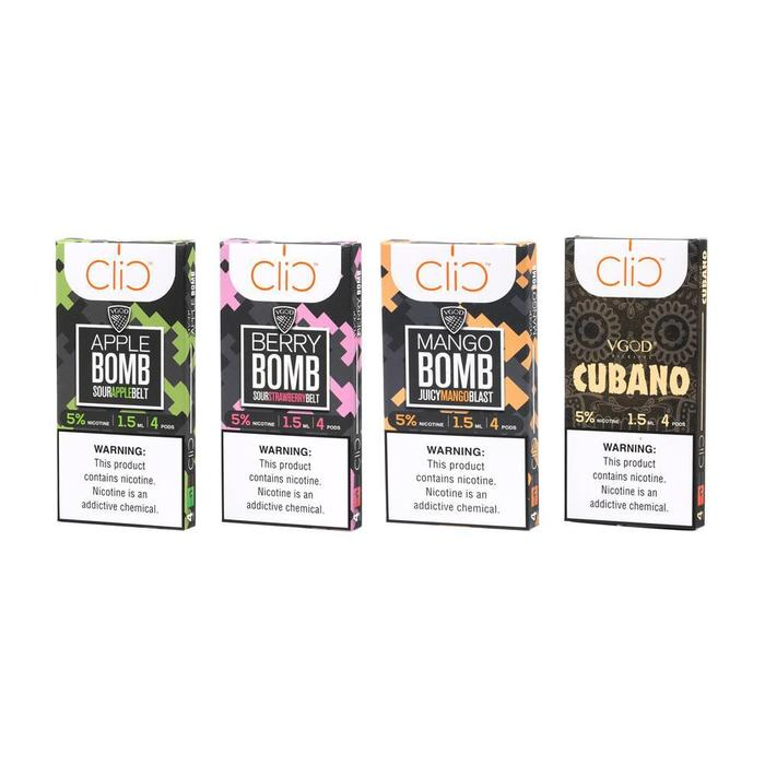 VGOD - Clic Pods 1.5ml (4pcs/pack)