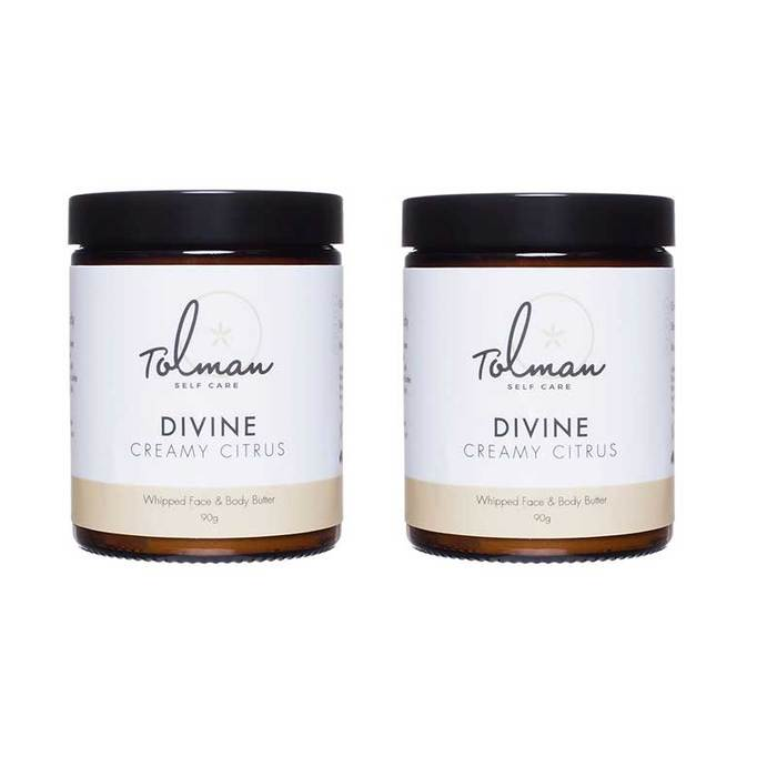 Divine Plant-Based Face & Body Butter (Twin Pack)