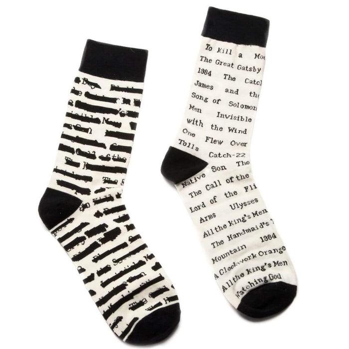 cdcdd164708 Banned Book Socks - Crew Socks