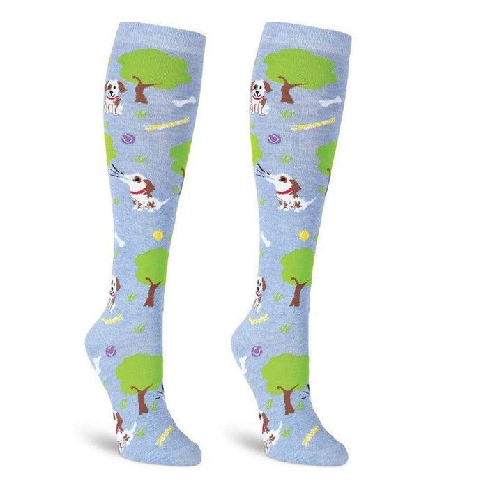 ee0ad148103 Dog Park Socks - Knee High Socks for Women