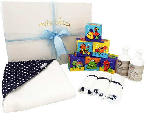 My Bath Time - Deluxe Navy Soft Cube Set