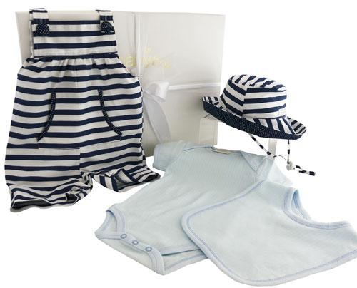 My First Wardrobe - Deluxe Navy Overalls Set