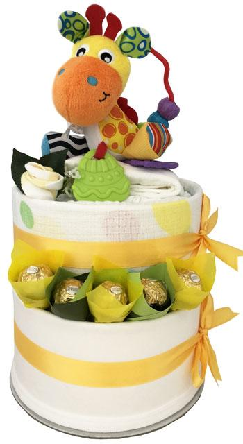 My Play Time Cake - Deluxe Colourful Giraffe