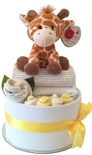 My Unisex Cake - Deluxe Unisex Essentials & Pippins Giraffe