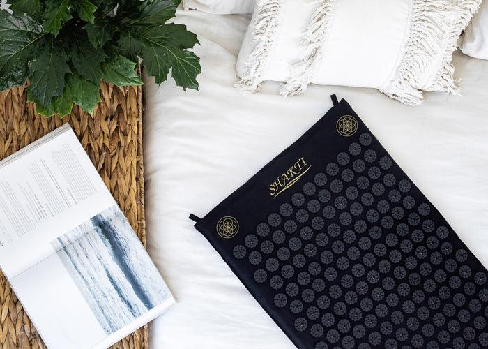 New - Luxury Shakti Mat Original - Black
