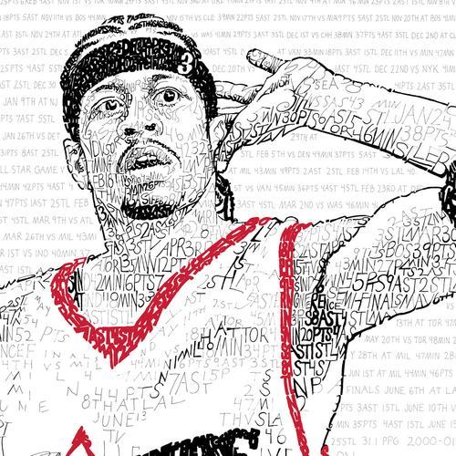 Allen Iverson 2001 MVP