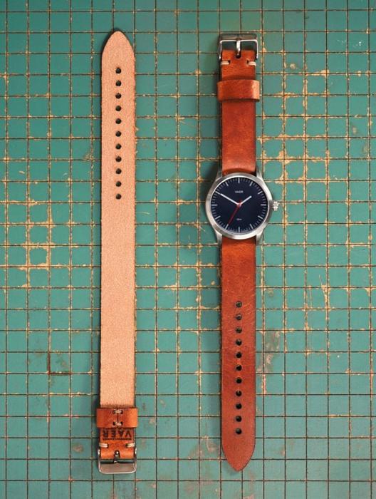 VAER Leather Strap - Oil Brown