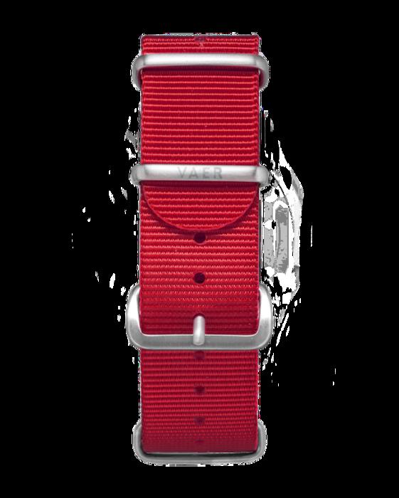 VAER Nylon Strap - Red