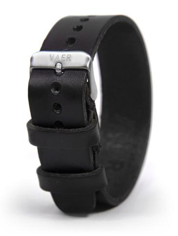 VAER Leather Strap - Black