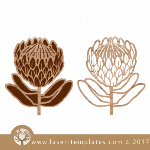 Protea Cut And Engrave 3