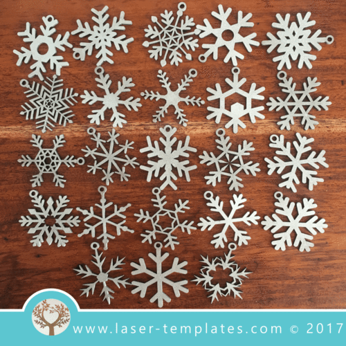 Christmas Snowflakes decorations