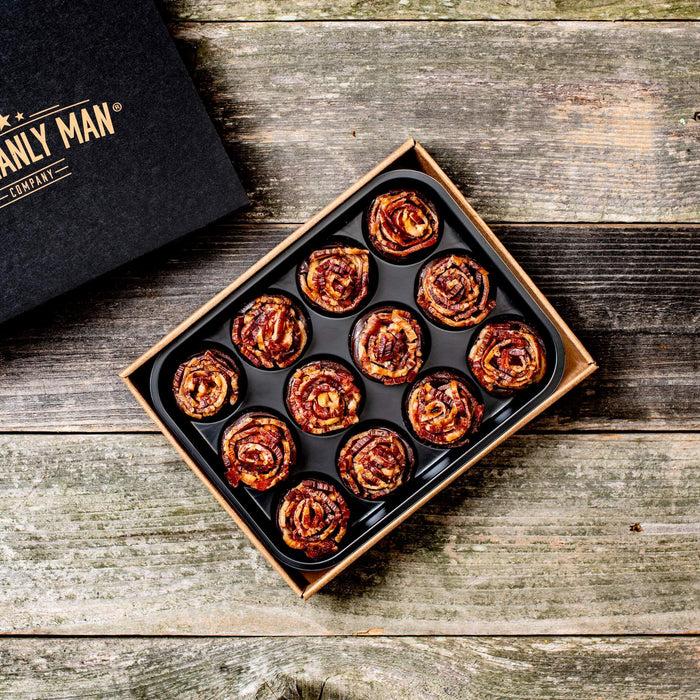 BACON JERKY ROSES + Dark Chocolate