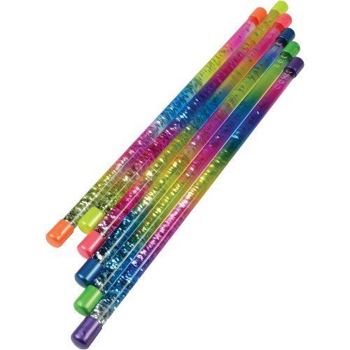Sparkling Rainbow Batons (One Dozen)