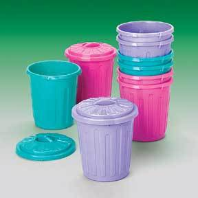 Mini Garbage Cans (One Dozen)