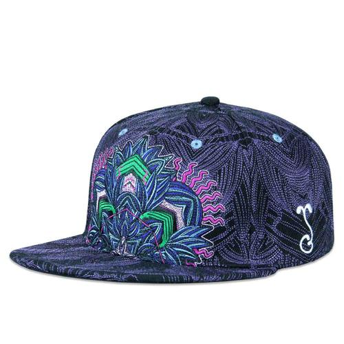 b4222eec Tropicali Psychedelic Purple Fitted