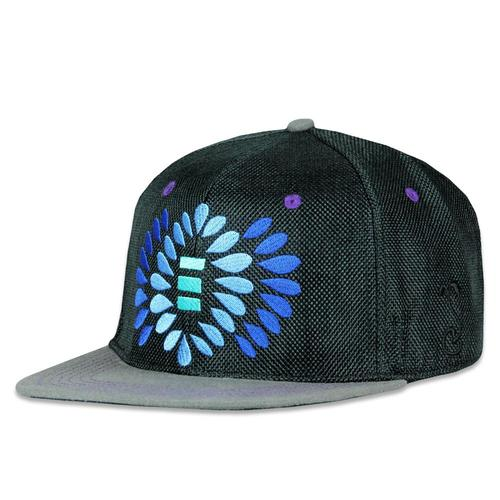 cdd56710 Jerry Garcia Burst Black Snapback Hat