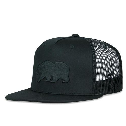 1480ec53 Dri-Bear Black Out Mesh Snapback Hat