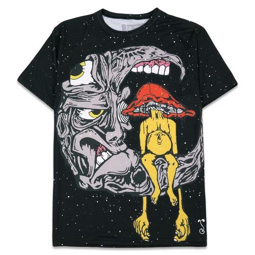 fc07eca13 Aaron Brooks Lunar Meets Fungus T Shirt