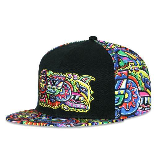 various colors d4049 758ab Chris Dyer Rainbow Serpent Red Snapback Hat