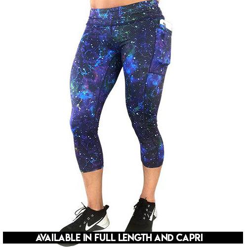Galaxy Capri Leggings