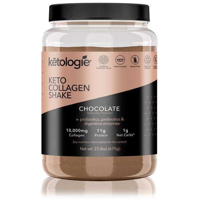 Chocolate Keto Protein Shake- Net Wt. 2.38lb