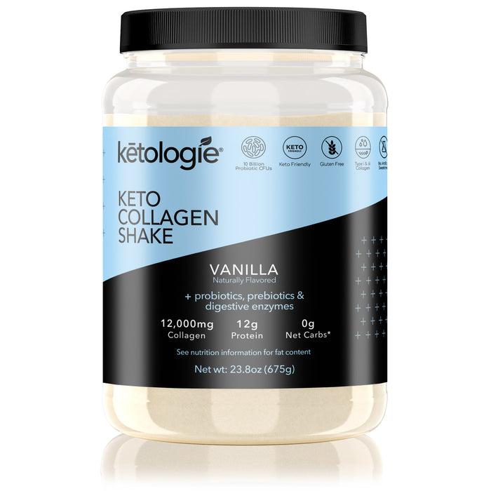 Vanilla Keto Protein Shake- Net Wt. 2.38lb