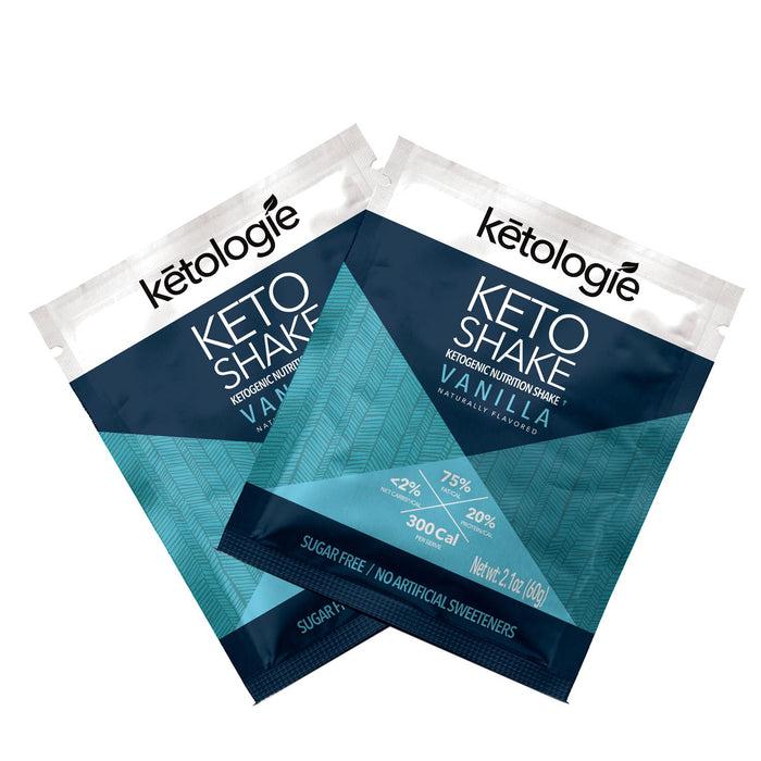 Vanilla Keto Shake sachet 10 pack