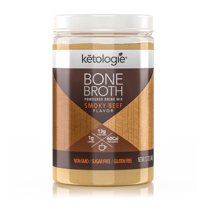 Smoky Beef Bone Broth- Net Wt. 12.7oz