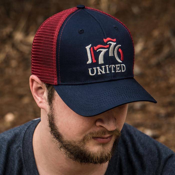 1776 United® Retro Logo Mesh Snapback
