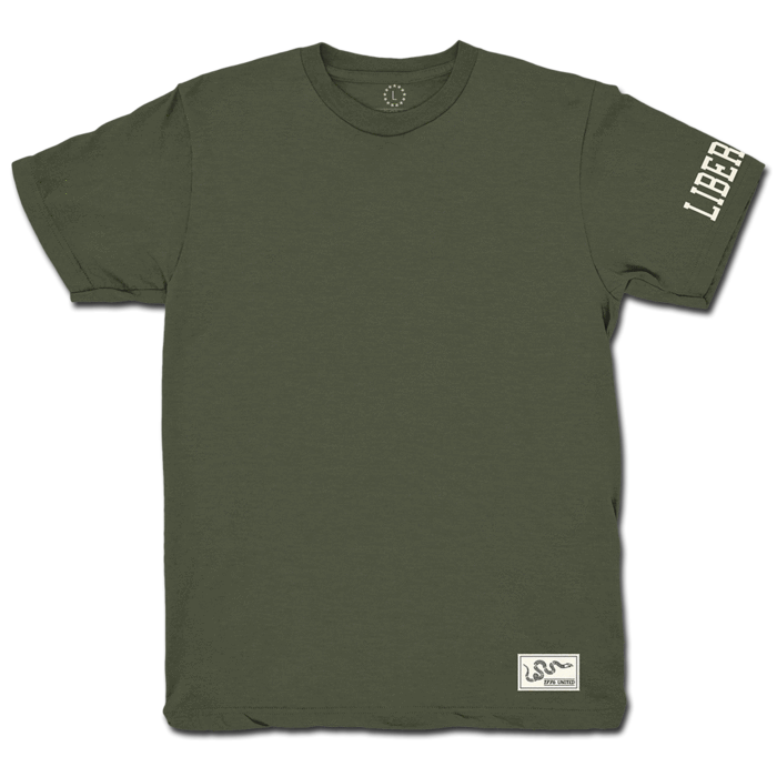 44b3d48b5ad91a 1776 United® Basic Tee - OD Green