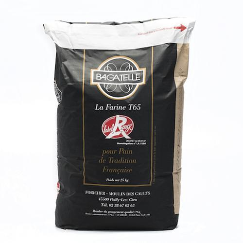 T65 French bread flour 25kg | TRADITIONAL WHEAT FLOUR