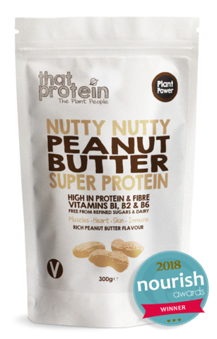 Nutty Nutty Peanut Butter Super Protein Larger 300g Pack