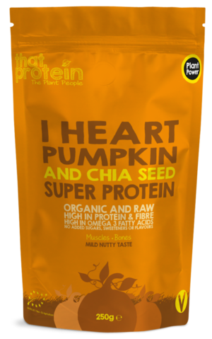 I Heart Pumpkin and Chia Seed Super Protein