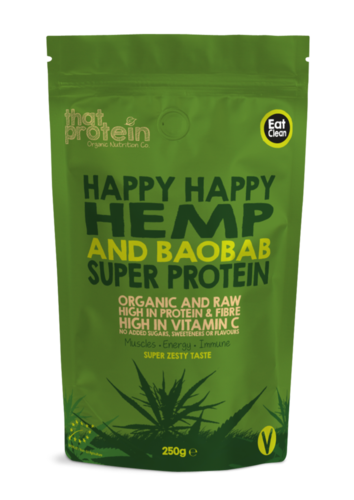 Happy Happy Hemp and Baobab Super Protein
