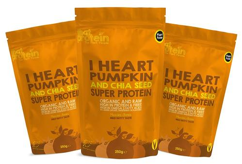 I Heart Pumpkin and Chia Seed Triple Pack