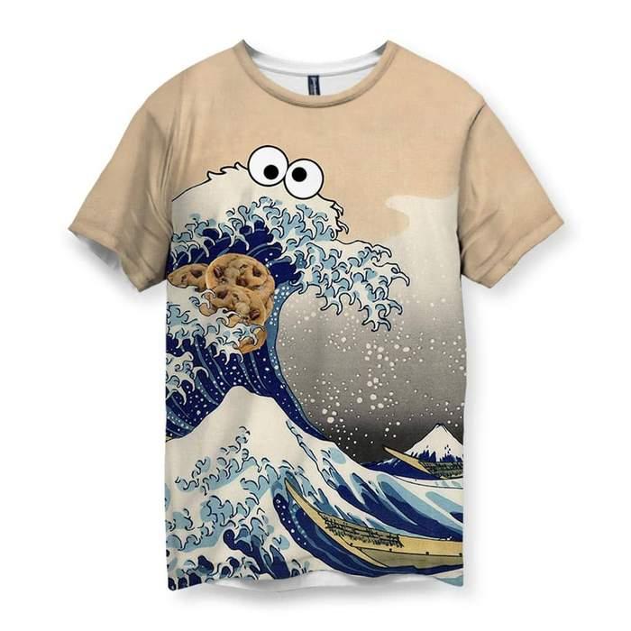 df04b8b14 Cookie Wave Men's T-Shirt