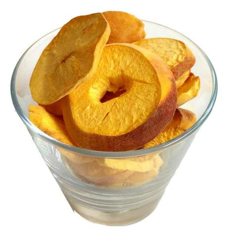 Freeze Dried Peaches Snack Pouch