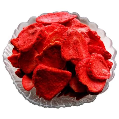 Freeze Dried Organic Strawberry Snack Pouch