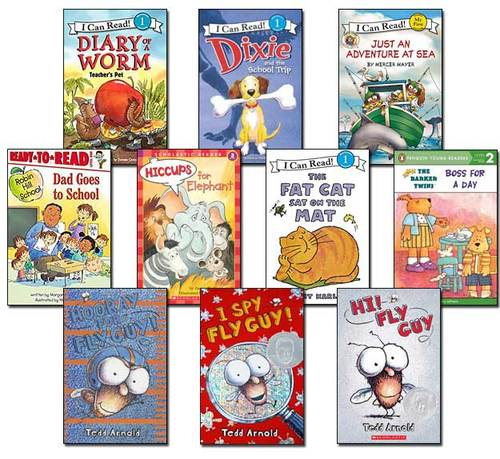10 Leveled Books at Guided Reading I / DRA 16 (set #I22)