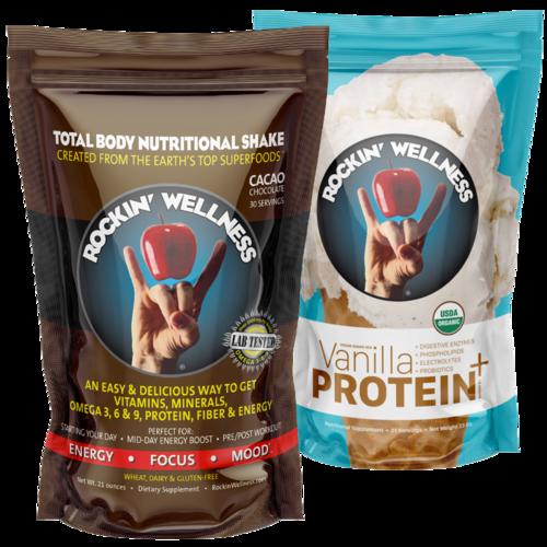 Special Facebook Bundle (Chocolate or Vanilla + Protein)