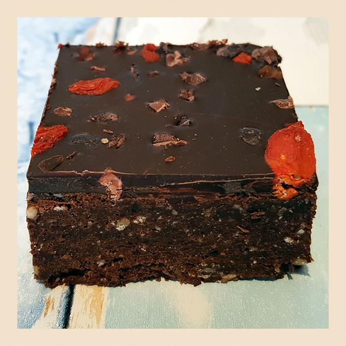 Yummy Scrummy Raw Chocolate Brownie