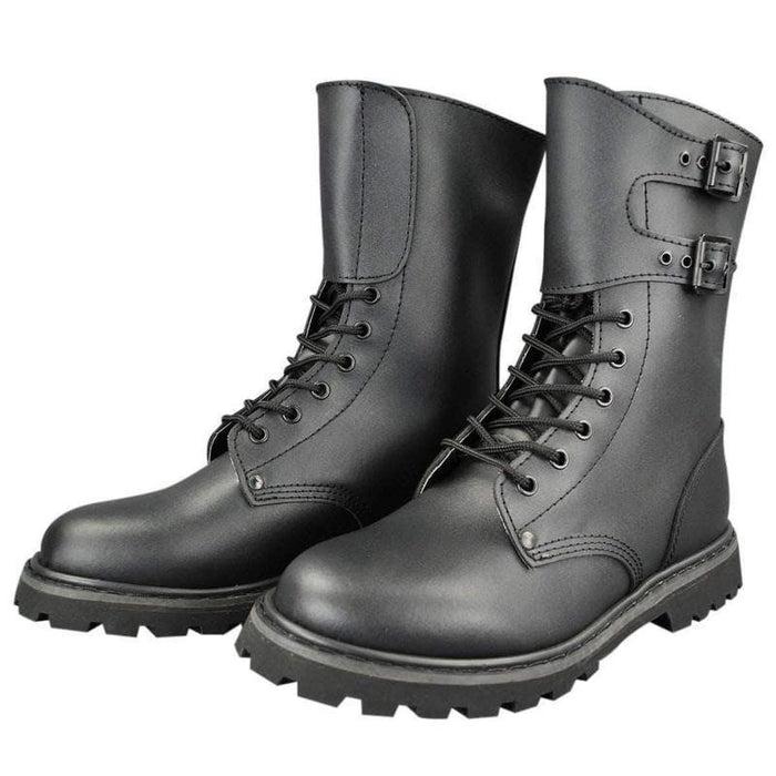 Chaussures rangers Armée Française en cuir