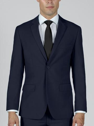 NAVY BLUE TWO BUTTON TR SUIT