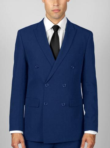 ROYAL BLUE DOUBLE BREASTED SUIT